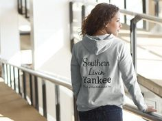 Southern Livin Yankee Signature Unisex Hooded Sweatshirt