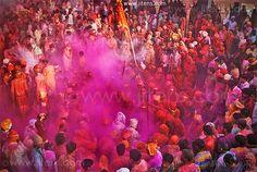 Holi Festival, India  by Jinendra Singh