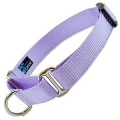 This avender martingale collar is a great basic martingale for training, and for leash walking escape artists, newly adopted rescues or puppies. Cute Dog Collars, Girl Dog Collars, Leash Training, Training Collar, Plastic Dog House, Wooden Dog House, Expensive Dogs, Cool Dog Houses, Martingale Dog Collar