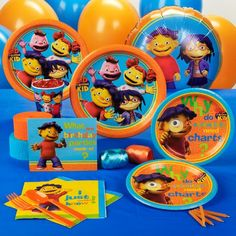 Sid the Science Kid Party Supplies and Ideas