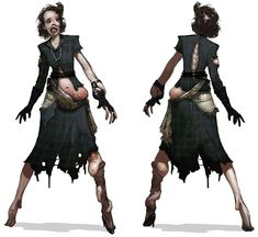 Mutated Woman (bioshock splicer)