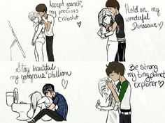 Sorry about all the youtube stuff, I just thought this was cute. Stay strong.