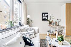 Apartamento pequeno, muita de luz e plantas ~ Decoração e Ideias | casa e jardim