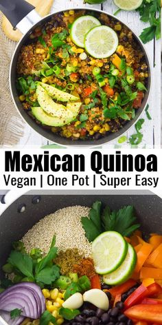 Healthy Eating Tips, Vegan Recipes Easy, Clean Eating Snacks, Mexican Food Recipes, Whole Food Recipes, Vegetarian Recipes, Cooking Recipes, Recipes With Beans Healthy, Vegan Recipe Sites