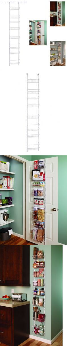 Racks and Holders 46283: Over The Door Spice Rack Wall Mount Pantry Kitchen 12-Inc Tier Cabinet Organizer -> BUY IT NOW ONLY: $47.34 on eBay!