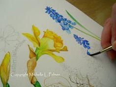Michelle Palmer: Michelle Palmer Watercolor