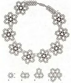 Beaded snowflake PATTERN necklace easy http://www.ecrafty.com/casearch.aspx?SearchTerm=snowflake