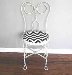 ice cream parlor chair for vanity | Stockroom Vintage » Inventory » Seating » Cream Parlor Chairs