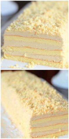 """Cake """"Slavyanka"""" with an incredible cream has . - pečení a vaření - Doce Sweets Recipes, Baking Recipes, Cake Recipes, Russian Desserts, Russian Recipes, Ice Cream Candy, Noel Christmas, Cakes And More, Food Photo"""