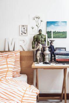 Spirited Master Bedroom in Singapore —MR