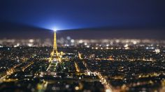 """""""City of Light and Love"""" - Paris from the Tour Montparnasse [3079 x 1732][OC]"""