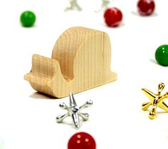 Wooden Toy Snail