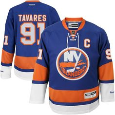 John Tavares New York Islanders Reebok Youth Name and Number Premier Hockey Jersey - Royal Blue - $79.99