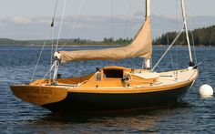 Tendress - Stephens Waring Yacht Design, built by Brooklin Boat Yard