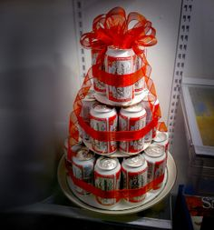 DIY: Beer can cake