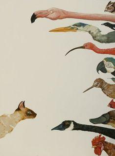 JENNY KEITH HUGHES, fantasía y surrealismo para el veranito. http://represent.com/kittenshirt