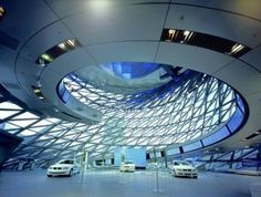 Zaha Hadid's BMW factory in Leipzig