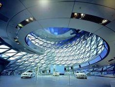 Zaha Hadid's BMW factory in Leipzig