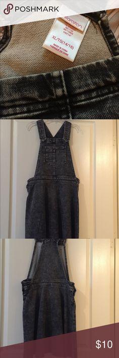 Girls black denim dress! Beautiful size 14/16 girls dress! Xhilaration Dresses Casual