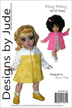 "/""A La Ferme/"" Fashion Pattern for 10 Inch Tonner  Ann Estelle and Patsy"
