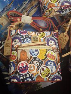 New Dooney & Bourke Star Wars handbags for the Run Disney 2017 Star Wars Half Marathon Weekend at Disneyland