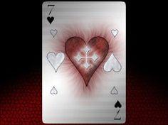 Card Noir: Heart by SheerDark Ace Of Hearts, Deviantart, Artist, Artwork, Cards, Work Of Art, Auguste Rodin Artwork, Artists, Artworks