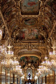 Palais Garnier by mmmmgoatcheese, via Flickr