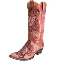 I LOVE me some pink cowboy boots!
