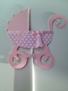 rose gold baby carriage centerpiece by craftedbymaryellen on etsy rh pinterest com Baby Crown Centerpiece Baby Nautical Centerpieces