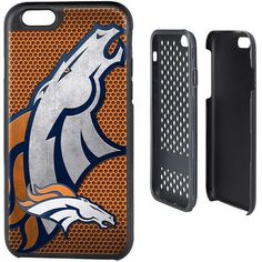 Denver Broncos iPhone 6 Rugged Series Case, Den Team ($29) ❤ liked on Polyvore featuring accessories and tech accessories