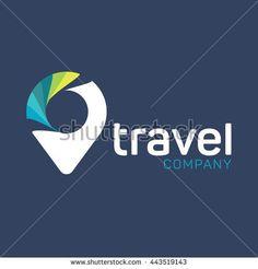 Logo Travel Agency Agency Logo, Agency Office, Travel Logo, Travel Companies, Travel Agency, Letters, Logos, Shops, Vector Art