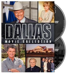 Dallas The Movie Collection New DVD Box Set Region Free ( Larry Hagman )