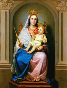 Sainte Vierge Marie  Notre-Dame de la Confiance