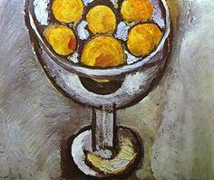 Анри Матисс. Ваза с апельсинами. 1916. Холст, масло. Частная коллекция.