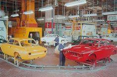 Alfa Romeo Giulia Gt assembly line