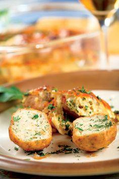 Pârjoale din cartofi cu verdeaţă