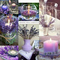 Lavender Cottage, Lavender Scent, Lavender Fields, Lavender Flowers, Pretty Flowers, Purple Flowers, Lavander, Lavender Candles, Candle Centerpieces