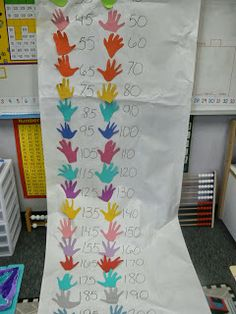 Here's a post describing an activity for counting by 5s and 10s.