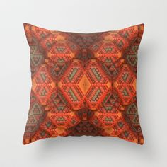 Quilted Throw Pillow by Lyle Hatch - $20.00