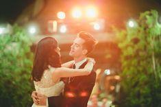 Glamorous Malibu Wedding: Sarah + Brendon Urie (panic at the disco wedding)
