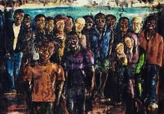 Quinto e ultimo Stato #atelierglistanzini #arttherapy #artforall #art #color #pellizzadavolpedo