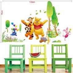 Inspirational XXXL Winnie und seine freunde Wandtattoo Wall sticker Decal Kinderzimmer colorfulworld http