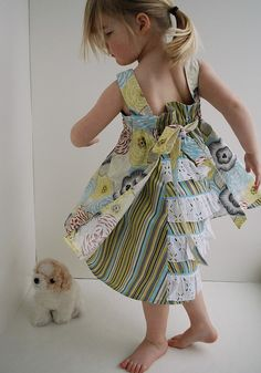 Farbenmix Feliz dress - love these colors