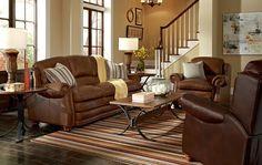 Flexsteel Pure Comfort Power Loveseat Furniture Market Austin