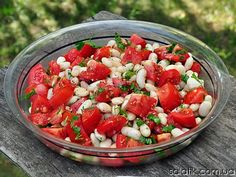 bean salad with rosemary flavor