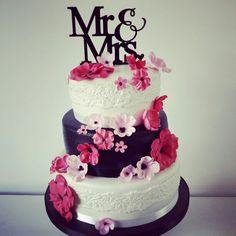 Weddingcake Sandra & Marco