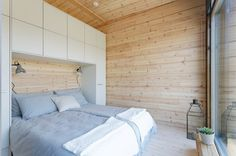 Cottage Design, House Design, Weekend House, Prefabricated Houses, Cottage Furniture, Construction, Glass House, Log Homes, Dream Bedroom