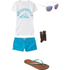 Aeropostale Summer Clothes, Summer Outfits, Girl Outfits, Cute Outfits, Aeropostale Outfits, Tween, Everyday Fashion, Shoe Bag, My Style