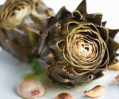 Artichoke Spinach and Walnut Pesto Recipe.  YUM!