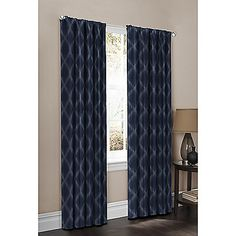 Maytex Mills Wraparound Leon Tallis Window Curtain Panel Pair